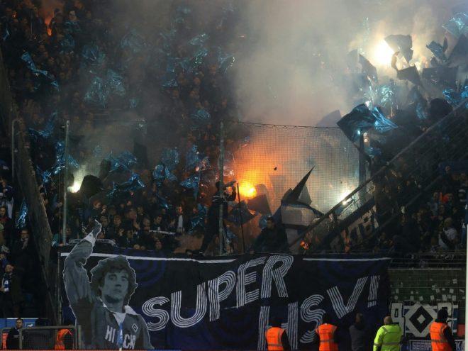 DFB: HSV darf kontrolliert Pyrotechnik abbrennen
