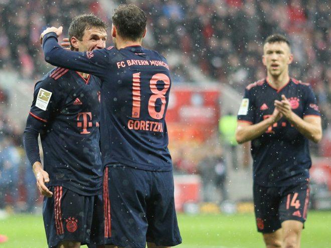 Bayern gewann das letzte Bundesligaspiel 3:1 gegen Mainz