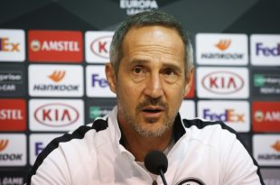 Adi Hütter glaubt an vorzeitiges Ende der Europa League