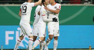 Eintracht Frankfurt steht im Halbfinale