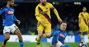 Barcelona und Neapel könnten vor leeren Rängen spielen