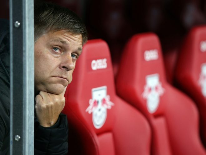 Manager Ruhnert vom Fußball-Bundesligisten Union Berlin