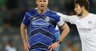Fabian Klos erzielte den Siegtreffer für Bielefeld
