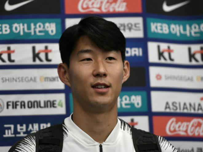 Heung-Min Son flog am Sonntag in seine Heimat Südkorea