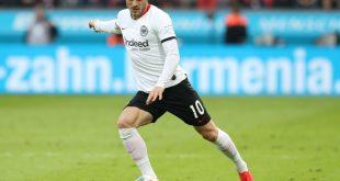 Kostic sah im Spiel gegen Bremen die Rote Karte
