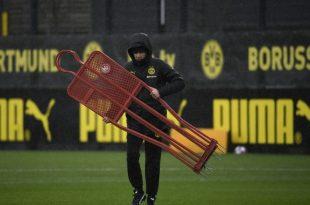 Weiterhin nicht auf dem Platz: BVB-Trainer Lucien Favre