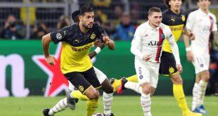 Die Mixed-Zone nach dem Spiel des BVB in Paris entfällt