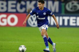 Amine Harit vom Fußball-Bundesligisten Schalke 04