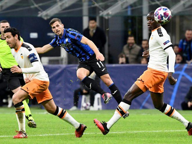 Atalanta Bergamo gewann das Spiel mit 4:1