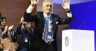Verbandschef Gravina des italienischen Fußballverbands