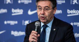 Präsident des FC Barcelonas Josep Bartomeu