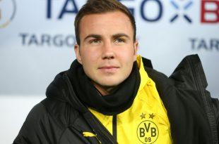 Der Vertrag von Mario Götze beim BVB läuft im Sommer aus