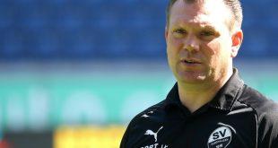 Coach Uwe Koschinat vom SV Sandhausen