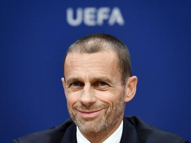UEFA-Präsident AleksanderCeferin