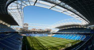 Fußballstadion in San Sebastián, Spanien