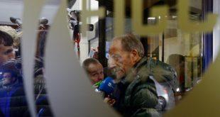 Renzo Ulivieri 2017 bei einem Interview in Rom