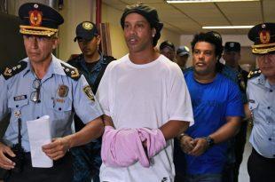 Ronaldinho wurde Anfang März festgenommen