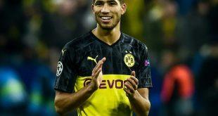 Hakimi ist noch bis Saisonende an den BVB ausgeliehen