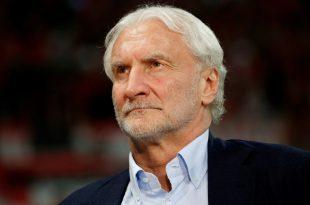 Rudi Völler, Sport-Geschäftsführer von Bayer Leverkusen