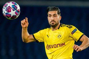 Emre Can könnte in Wolfsburg sein Comeback feiern