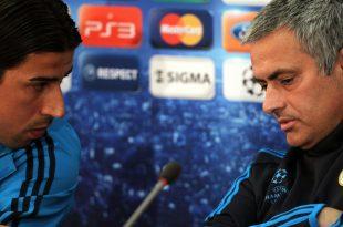 Drei Jahre zusammen bei Real: Khedira (l.) und Mourinho