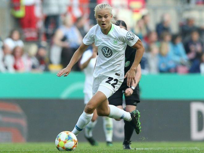 Pernille Harder trifft gegen Köln doppelt