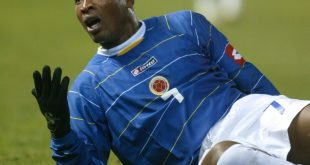 Edwin Congo im Dress der kolmbianischen Auswahl 2005
