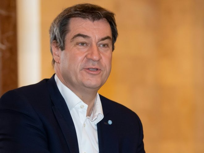 Markus Söder äußert sich über Torjubel in der Bundesliga