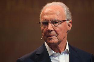 Wieder mal im Stadion: Franz Beckenbauer
