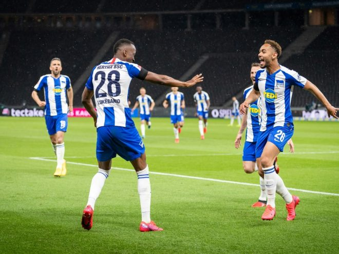 Hertha BSC gewinnt Stadtduell gegen Union deutlich