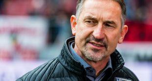 Achim Beierlorzer will die Pleite gegen Leipzig abhaken