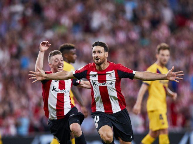 Aritz Aduriz schoss in 312 Spielen 118 Tore für Bilbao