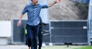 KSC-Trainer Christian Eichner holt Punkt gegen Hannover