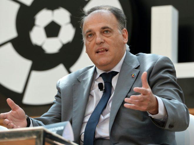 Teilte Termin für Saisonstart 2020/21 mit: Javier Tebas
