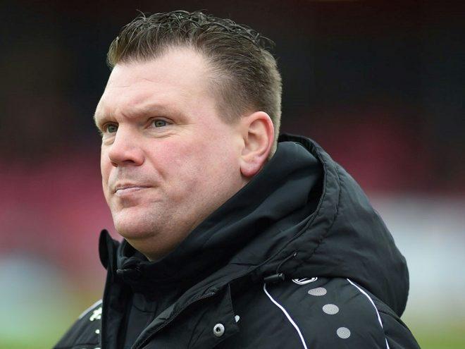 SVS-Coach Uwe Koschinat sieht ein 0:0 seiner Mannschaft