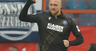 Philipp Hofmann trifft in der 66. Minute zum 1:0