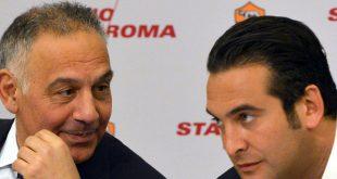 James Pallotta (l.) will sich von der Roma trennen