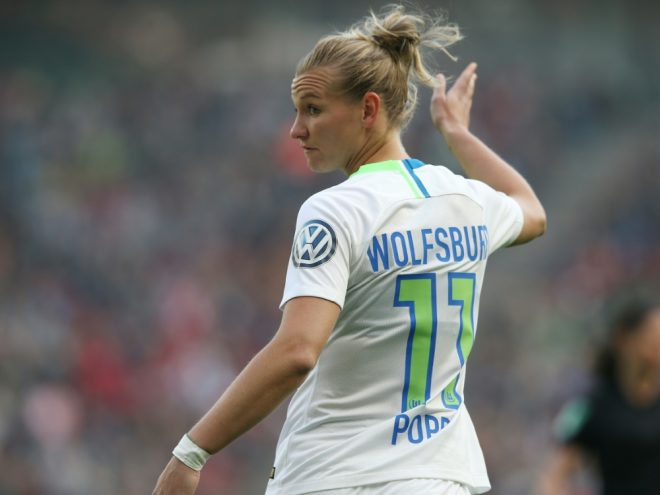 Auf Meisterschaftskurs: Alexandra Popp und Wolfsburg