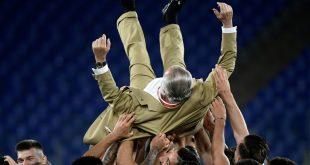 Neapel ist nach dem Final-Sieg gegen Juve Pokalsieger