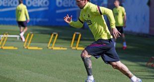 Lionel Messi ist leicht angeschlagen