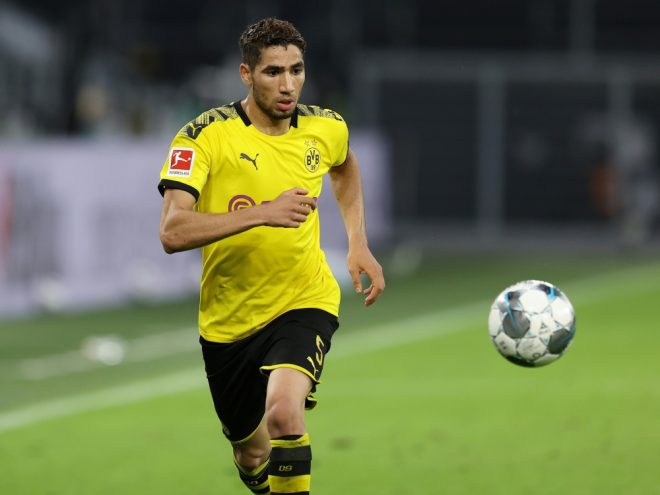 Hakimi wird den BVB nach der Saison verlassen