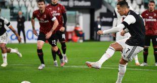 Ronaldo verschoss gegen den AC Mailand einen Elfmeter