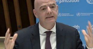 Infantino kündigt ein finanzielles Hilfsprogramm an