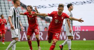 Bayern München gewann auch das letzte Heimspiel