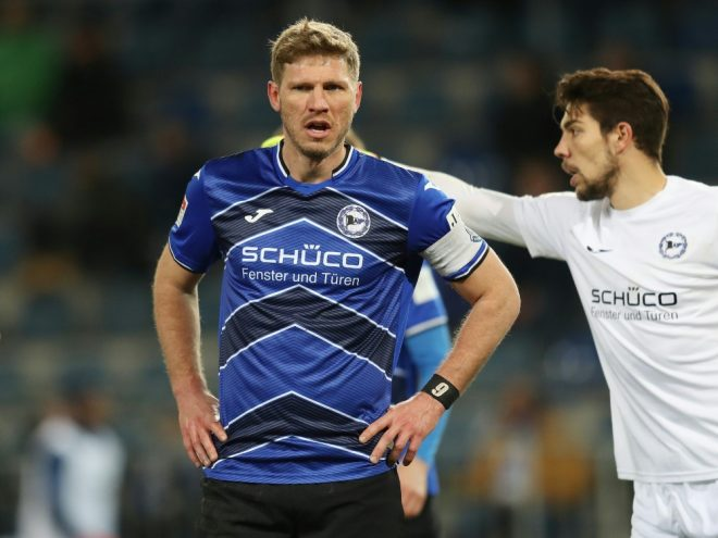 Tabellenführer Bielefeld spielt remis gegen Nürnberg