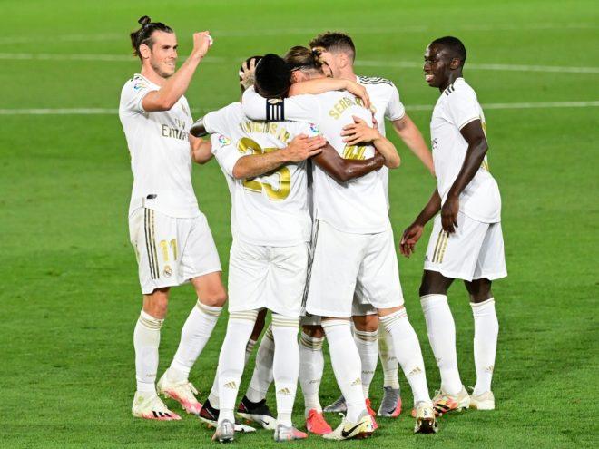Real Madrid ist wieder an der Spitze