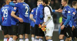 Die Bielefelder gewannen gegen Darmstadt 98