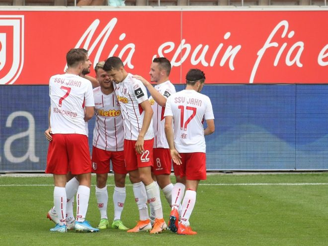 Befreiungsschlag: Jahn Regensburg bezwingt Darmstadt 3:0