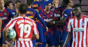 Erzielte sein 700. Karrieretor: Lionel Messi (M.)