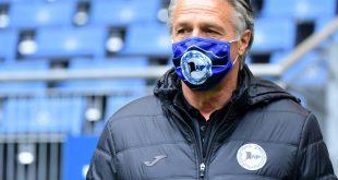 Uwe Neuhaus, Trainer von Arminia Bielefeld